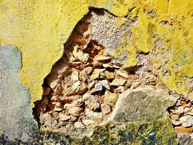Mur lépreux