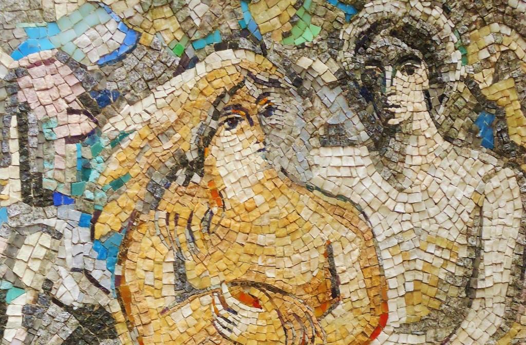 Mosaique de marc chagall for Chagall st paul de vence