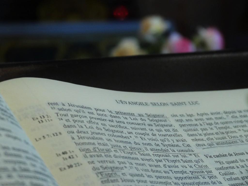 Lutrin dans une Eglise, Giverny - France