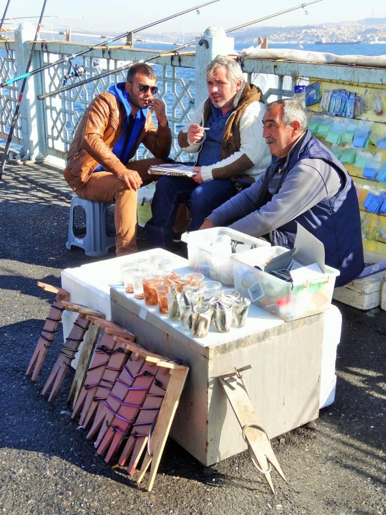 Pêcheurs du Pont de Galata