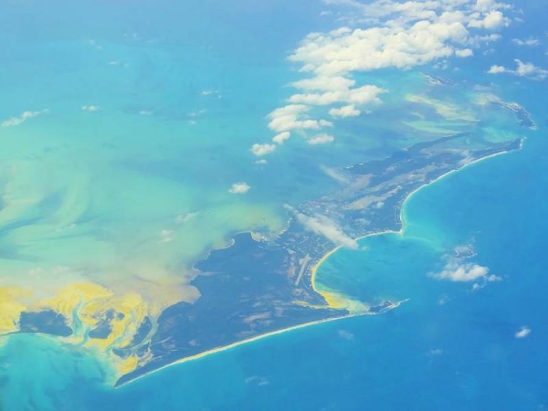 Les Caraibes vues du ciel