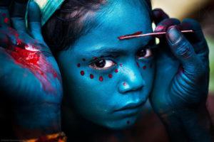La couleur Bleue