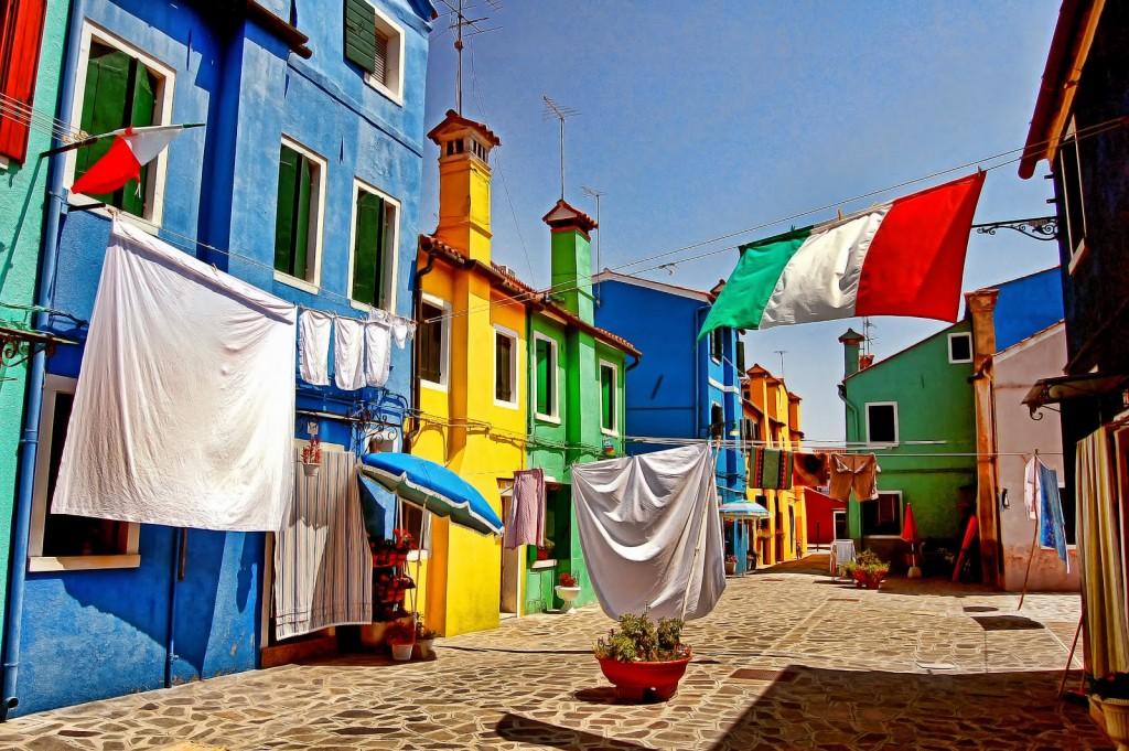 Burano, l'ile aux couleurs