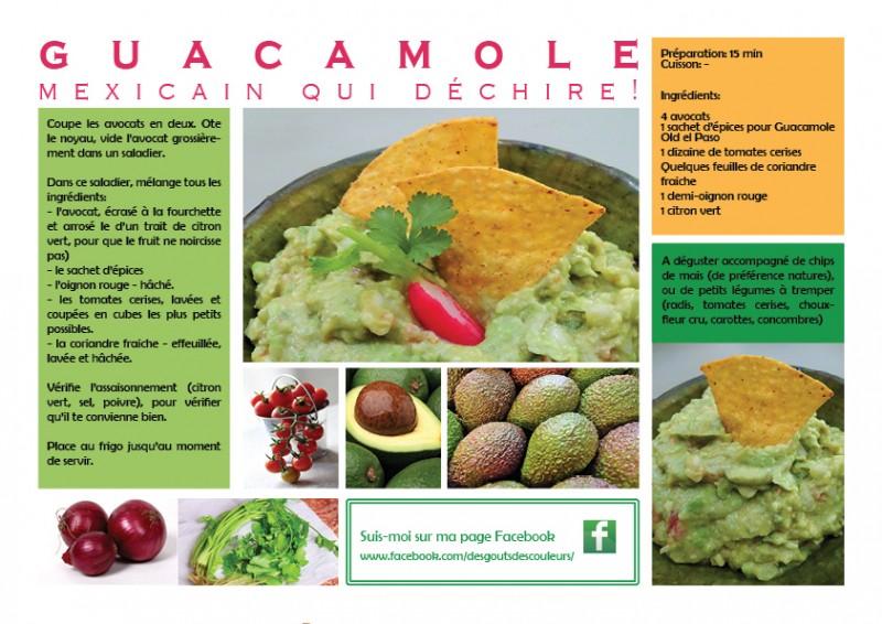 Le Guacamole Mexicain