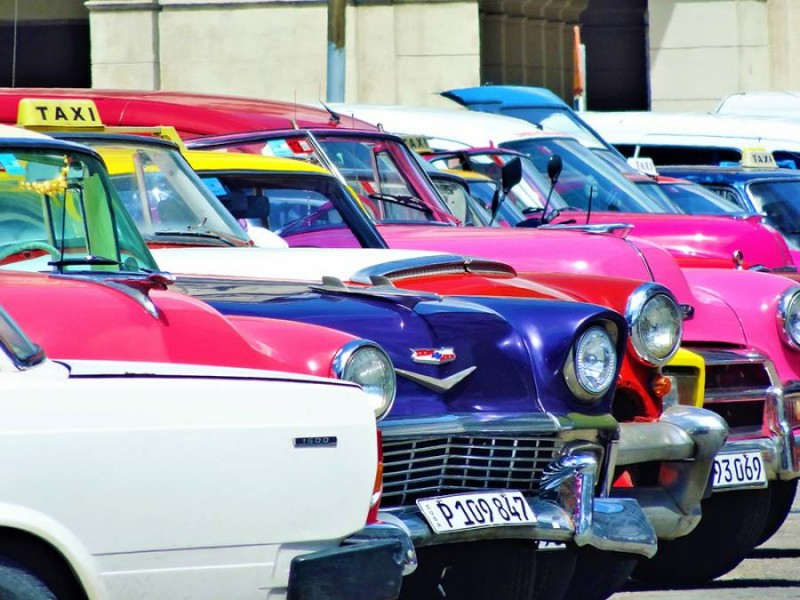 Vieilles dames à Cuba