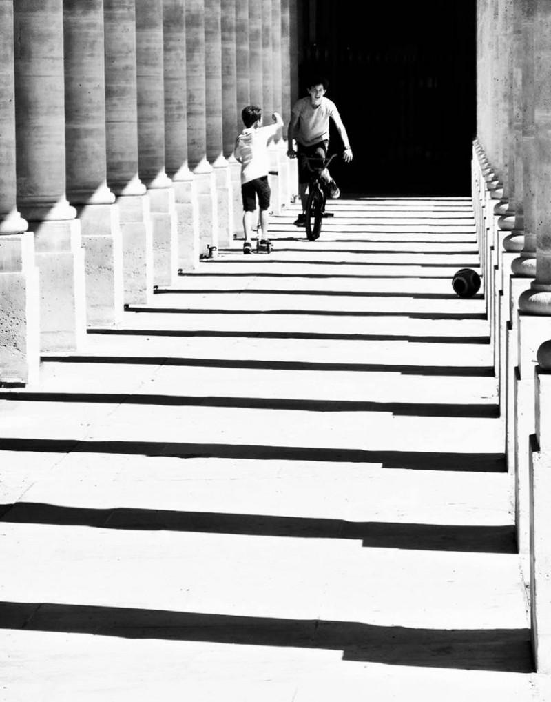 Jeux au Palais-Royal