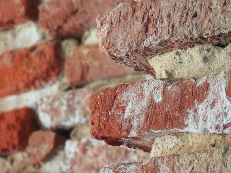 Briquettes rouges