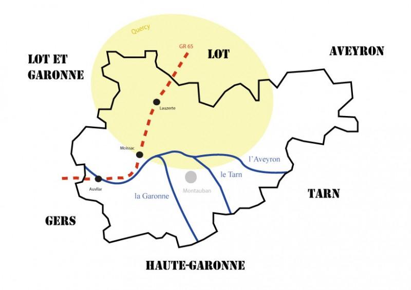 La traversée du Tarn-et-Garonne, en route pour Compostelle