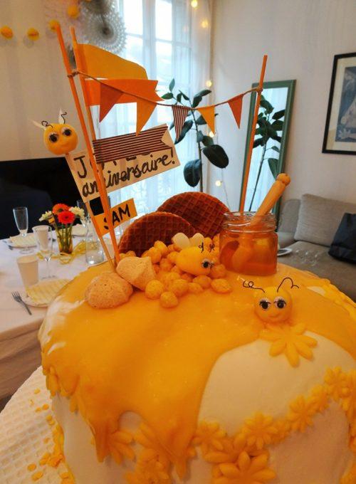 Gâteau nid d'abeilles