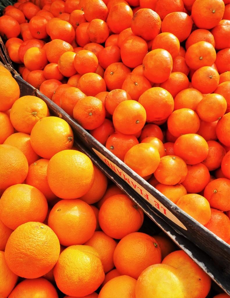 L'orange du marchand