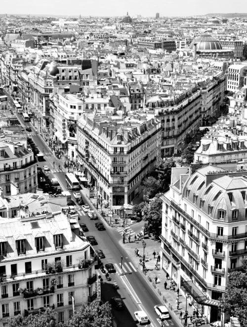 Paris, vue de la Tour Saint-Jacques