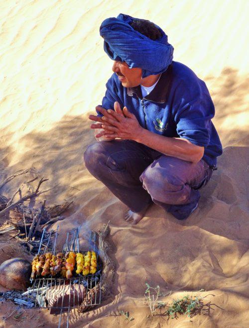 Homme bleu du désert